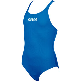 arena Solid Swim Pro One Piece Swimsuit Girls royal/white